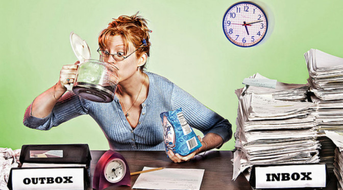 La leve diferencia entre estar ocupado y ser productivo :)