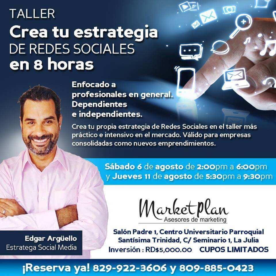 taller redes sociales republica dominicana