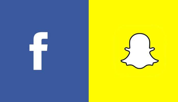 facebook actualización snapchat