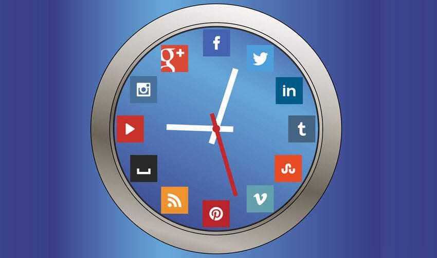 mejor hora para publicar en social media