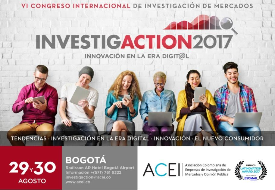 VI Congreso de Investigación de Mercados INVESTIGACTION 2017