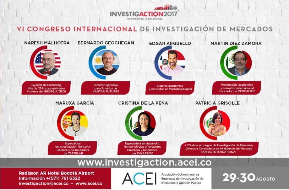 vi congreso internacional de investigación de mercados bogotá colombia