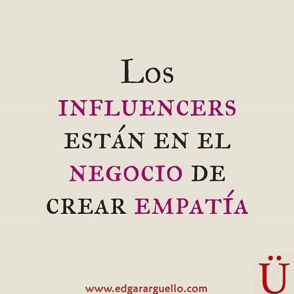 cual es el negocio de los influencers