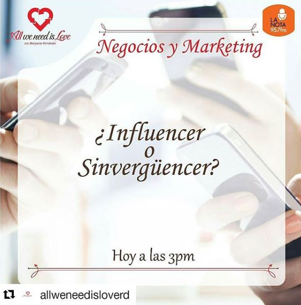 influencers o sinvergüencers