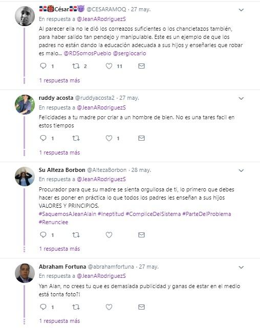 tweet de jean alain rodriguez procurador dominicana tendencias redes sociales 3