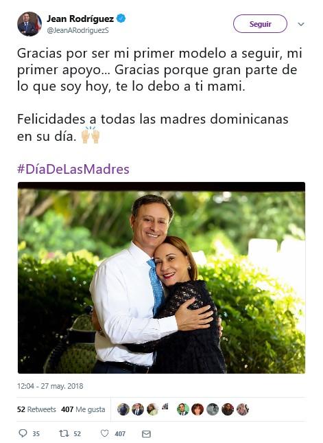 tweet de jean alain rodriguez procurador dominicana tendencias redes sociales