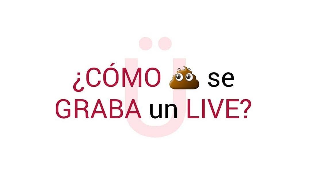 como se graba un live en instagram