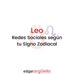 Leo y las Redes Sociales para su Zona Genio